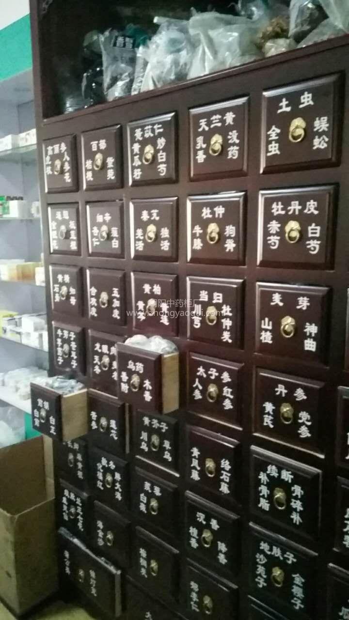 2017年10月济南二手中药柜转让 药店中药橱转让处理二手药橱