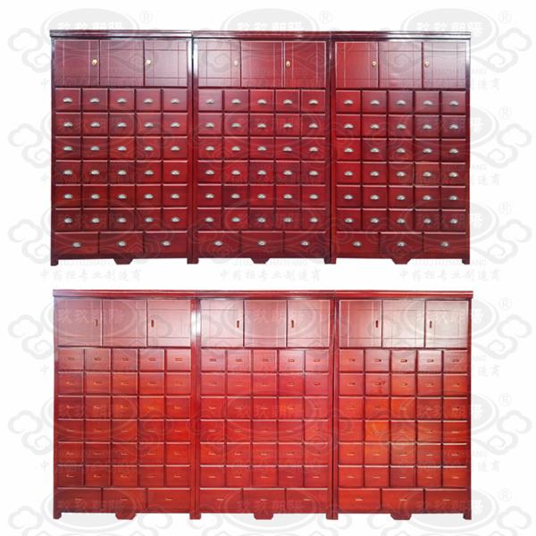 实木中药柜,药店药柜,诊所中药橱,橱门12-5X7