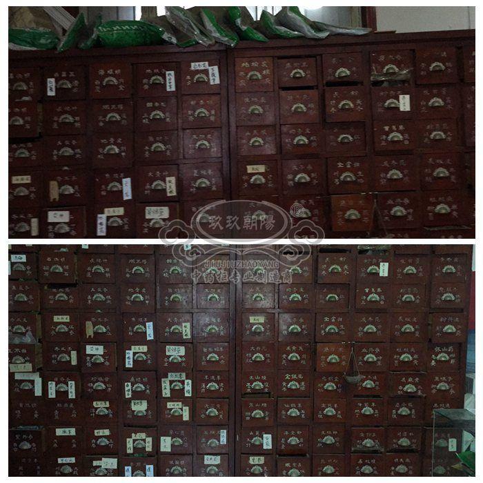【已转让】二手中药橱济南处理二手中药柜药店转让旧中药橱柜
