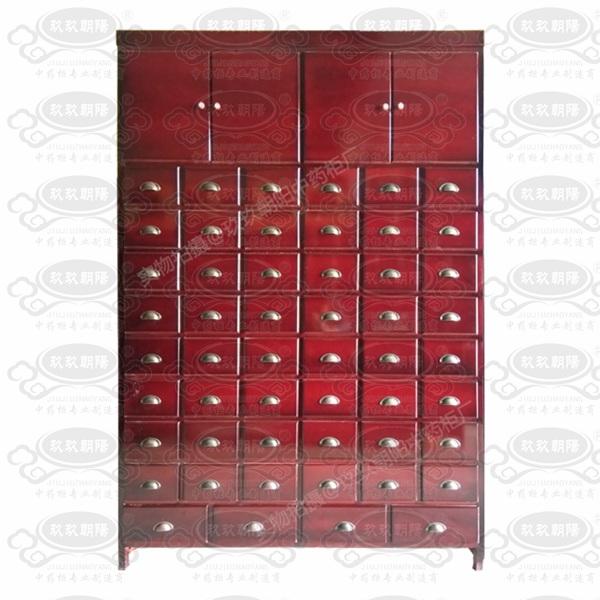 经济型木制中药柜D6X9盖