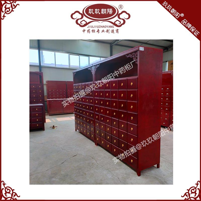 聊城市冠县东古城镇客户定制的实木<a href=http://www.zhongyaogui.com/lm_cpzx/zyg/ target=_blank class=infotextkey>中药柜</a>